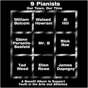 9 Pianists album cover