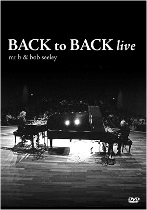 Back to Back Live DVD cover